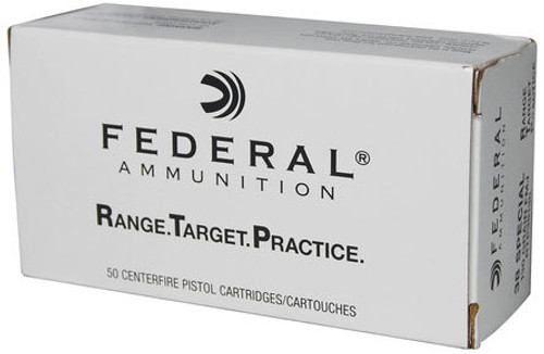 Federal Federal Range And Target Ammunition 38 Special 130 Grain FMJ 1000rd/Case