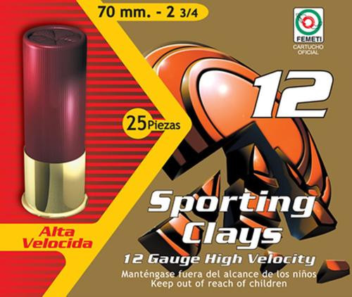 "Aguila Competition Standard Velocity 12 Ga, 2.75"", 1-1/8 oz, 7.5 Shot, 25rd Box"