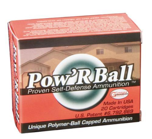 Cor-Bon Glaser 45 ACP +P Pow'rball 165 Gr, 20rd/Box
