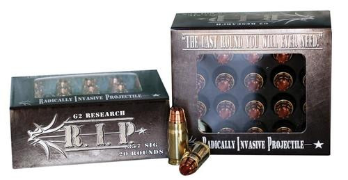 G2 Research RIP Radically Invasive Projectile357 Sig Sauer HP 20rd/Box