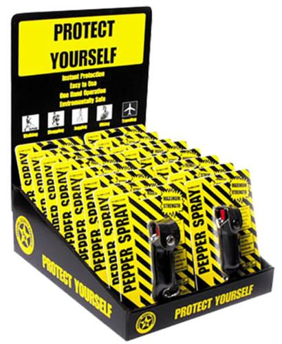 Eliminator Pepper Spray 16 Piece Display .5oz 12-15 Feet