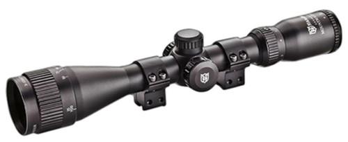"Nikko MountMaster 3-9x 40mm Obj 39-13 ft @ 100 yds FOV 1"" Tube Black 4"