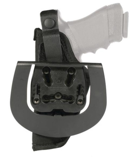 "Blackhawk Paddle Holster Black Right Hand For 3-4"" Barrel Medium Autos"