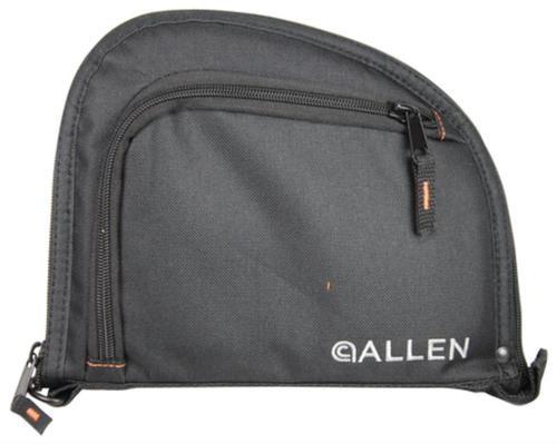 Allen Company Inc Auto-Fit 1-Pocket Handgun Case Measures 9.5x7.25 Inches Black