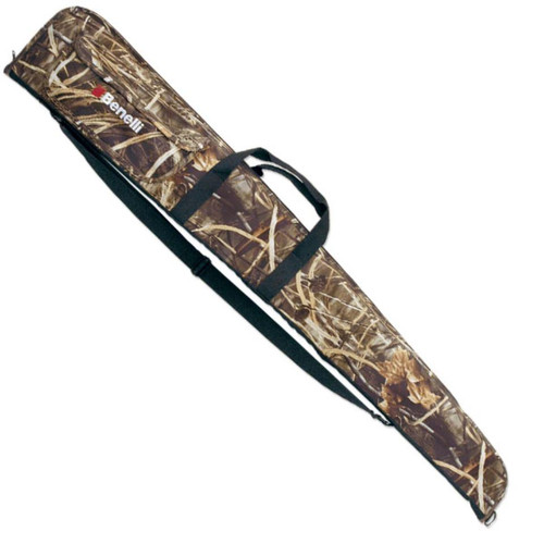 Benelli Floating Gun Case 52 Camo W/Logo Zippered