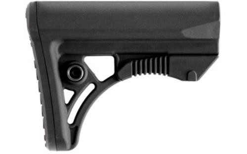 Leapers, Inc. - UTG Model 4 Combat Ops S3, Stock, Ambidextrous Sling Loop and Reversible QD Sling Swivel Housing, Polymer Stock Only, Black Finish