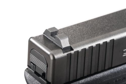 Ameriglo Black Rear Sight ICE Claw .256 Height .180 Width For Glock Pistols