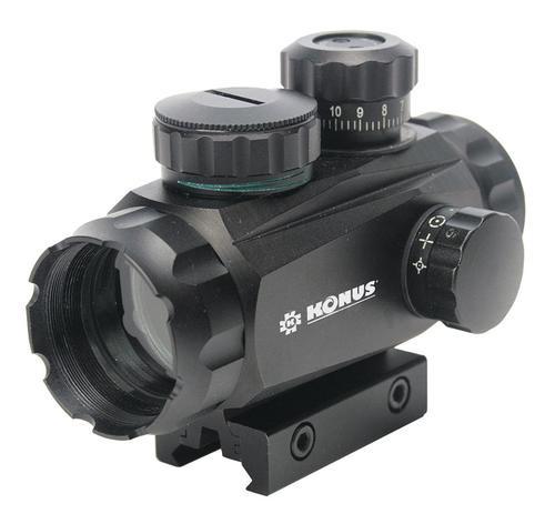 Konus Sight Pro TR 1x 35mm Obj Four Reticles Black