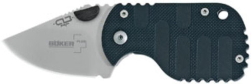 Boker Los Banos Subcom AUS-8 Clip Point Blade Fiberglass-Reinforced Nylon
