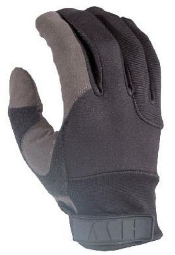 HWI Duty Glove with Kevlar Palm, Black, Medium