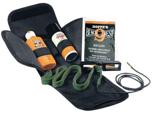 Hoppes BoreSnake Pistol Cleaning Kit 357/9mm Caliber Bronze Bristle