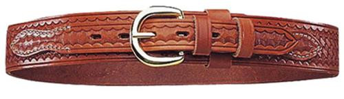"Bianchi Ranger Belt B4 40"" Tan Leather, 12101"