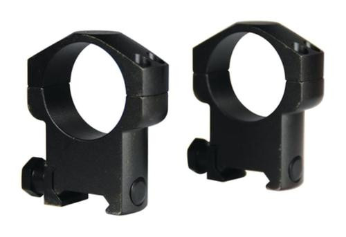 "Leupold Mark 4 Ring Set 1"" Diam Medium Steel Black Matte"