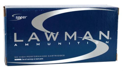 Speer Lawman .40 SW 180 Gr, Total Metal Jacket, 50rd/Box, 20 Box/Case