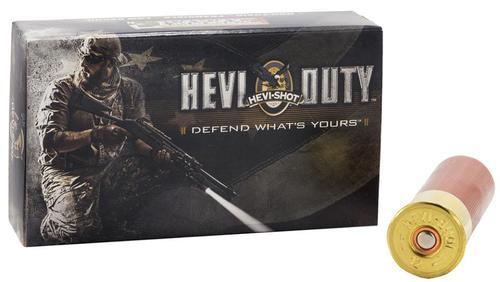 "Hevi Duty 12 Ga, 2 3/4"", 30 Pellets, #4 Buck Frangible, 5rd Box"