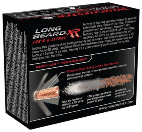 Winchester Long Beard XR 12 Gauge, 3.5 Inch, 1200 FPS, 2 Ounce, 4 Shot, 10rd/Box