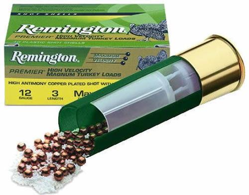 Remington Premier HV Mag Turkey 12 ga 3 1-3/4 oz 5 Shot 10Bx/10Cs
