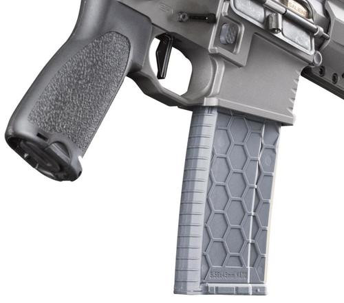 Hexmag AR-15 Magazine, .223/5.56, 30rd, Gray