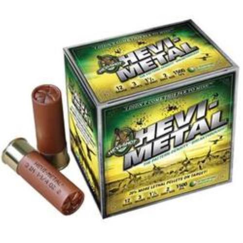 Hevi Shot Heavy Metal 20 Ga, 3 #3 Steel 1 Oz, 10rd/Box