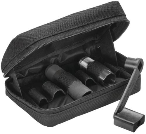 Remington Choke Tube Case Holds Six Includes Pocket With Zipper for Wrench Heavy-Duty Cordura