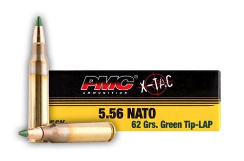 PMC M855 5.56x45mm Nato, 62gr, 1000rd/Case