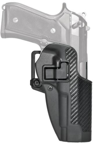 Blackhawk! Cqc Carbon Fiber Serpa Active Retention Holster Matte Black Right Hand For Beretta Px4 Storm