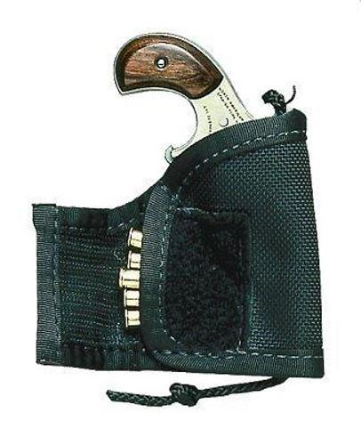 North American Arms NAA Pocket Holster 22LR Frame Black Nylon