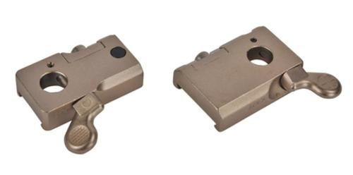 Leupold 2 Piece Base Quick Release Browning X-Bolt Silver