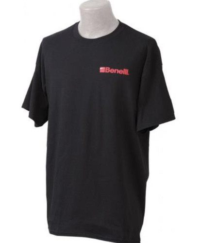 Benelli Logo T-Shirt, Black, Small