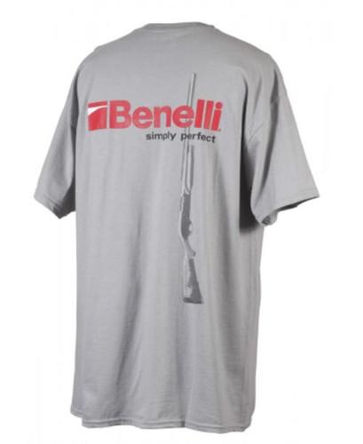 Benelli M2 T-Shirt, Gray, XXL