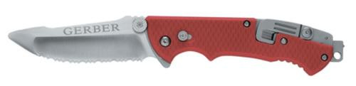Gerber Hinderer Rescue - Serrated, Sheath, Folding Sheath Knives