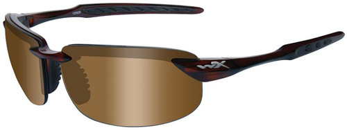 Wiley X Eyewear Tobi Safety Glasses Bronze/Brown Crystal Frame