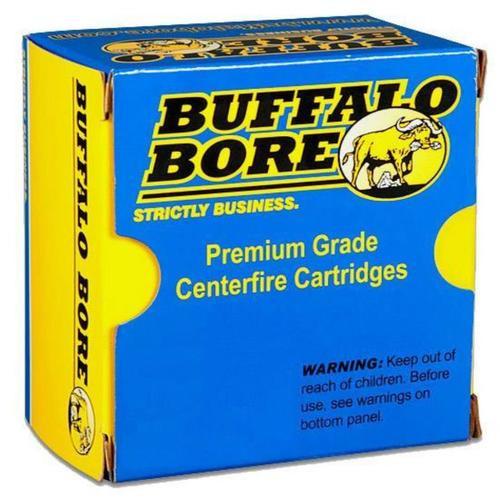 Buffalo Bore .327 Federal Magnum, 130 Gr, Hard Cast Bullet, 20rd/Box