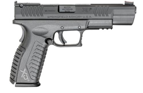 "Springfield XDM-5.25 Competition Series 9mm, 5.25"" Barrel, Fiber Optic Front Sight, 19rd"