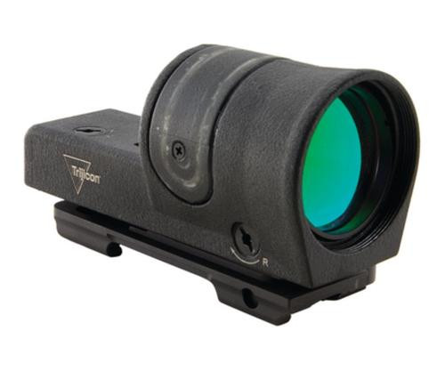 Trijicon Reflex RX34 Sight 1x42mm With 4.5 MOA Amber Dot Reticle and ARMS No. 15 Throw Lever Mount Matte Black