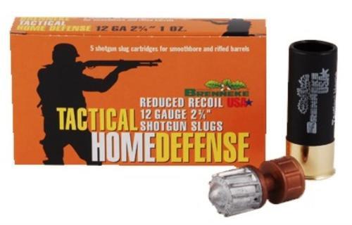 "Brenneke Tactical Home Defense 12 Ga, 2¾"" Slug, 1 oz, 1378 FPS, 5rd"