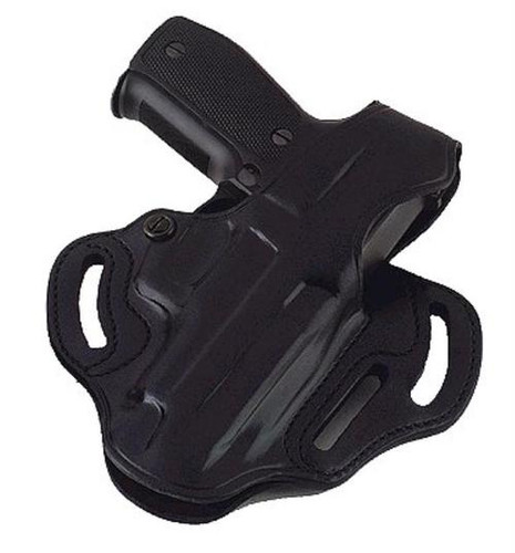 Galco COP 3 Slot 250B Fits Belts up to 1.75 Black Leather