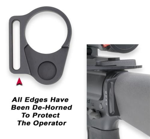 GG&G Receiver end plate sling attachment for fixed stocks, left hand.