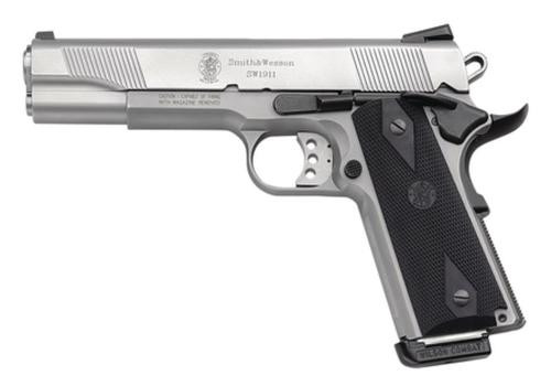 "Smith & Wesson 1911 45 ACP 5"" Barrel, Black Synthetic Grip Matte SS, 8rd"