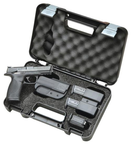 Smith & Wesson M&P 40 Carry and Range Kit, 15rd Mags,, Holster, Magazine Pouch, Earplugs, 3 Magazines & Speed Loader