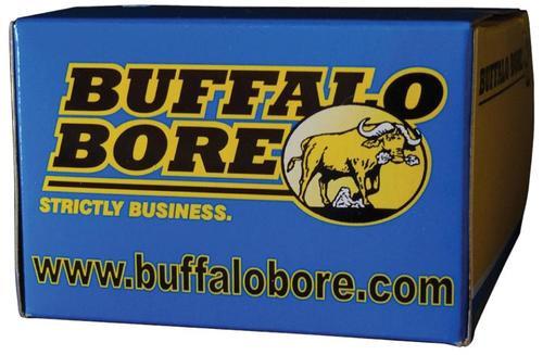 Buffalo Bore 45 ACP +P 255 Gr, Hard Cast Flat Nose, 20rd/Box