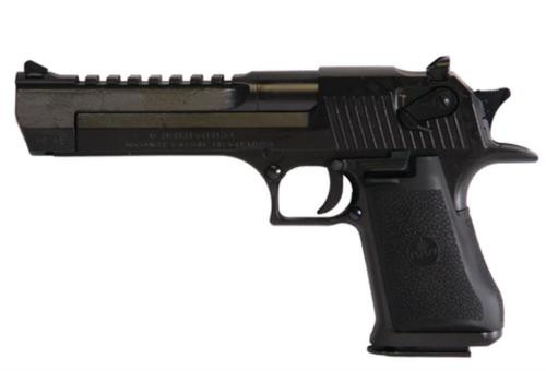 "Magnum Research IWI Desert Eagle Mark XIX .50 AE 6"" Black, 7 Round Mag"