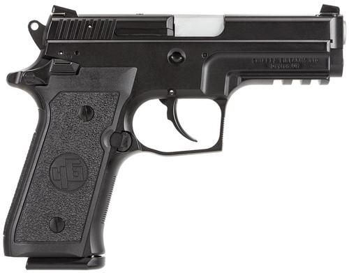 """Chiappa Firearms M27E Tactical SA/DA 9mm 3.9"""" 15+1 AS Poly Grip Black"""