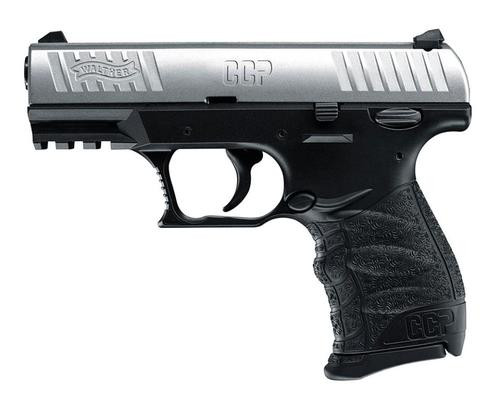 Walther CCP 9MM 3.54 Stainless, 8 Round, 2 Mags