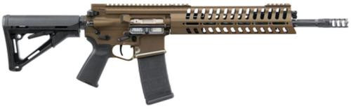 POF P415 Gen 4 Rifle 5.56/223 14.5 Fluted Barrel, Permanent Muzzle Device (16 Total) E2 Dual Extraction CTR Buttstock Cerakote Burnt Bronze Finish 30 Rd Mag