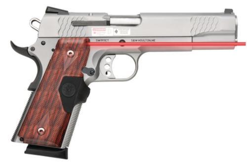 Smith & Wesson Model SW1911 CT, E-Series, Crimson Trace Lasergrips, 45 ACP