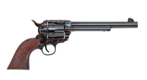 Ttraditions Frontier 1873 Single Action Revolver .45 Long Colt 7.5 Inch Barrel Case Hardened Finish Walnut Grip