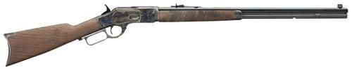 "Winchester Model 73 Sporter .357-.38 Caliber, 24"" Full Octagon Barrel, Straight Grip Stock, 14rd"