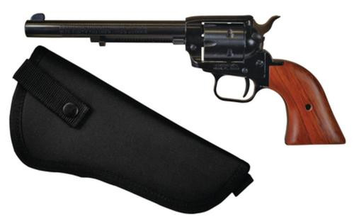"Heritage Rough Rider 22LR/.22 WMR Combo, 6.5"" Barrel, Blue Finish, Nylon Holster, 6 Rd"
