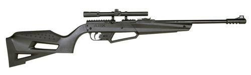 "Umarex NXG APX Combo .177, 20"" Barrel, 800 FPS, Black Synthetic Stock"